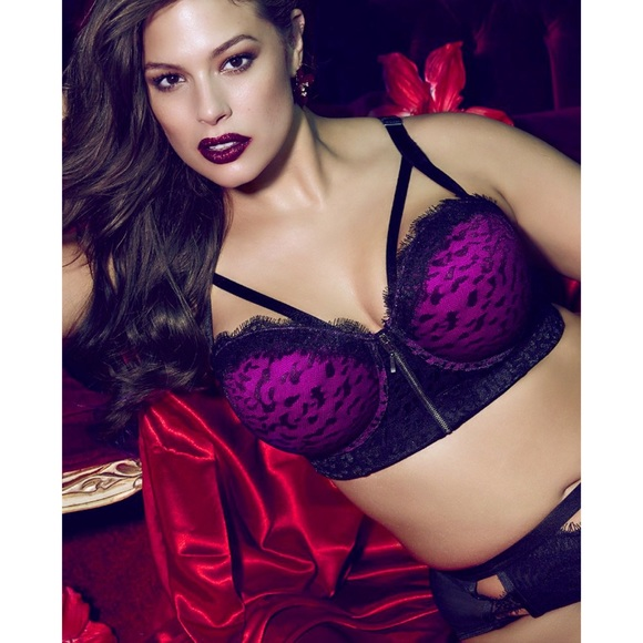 92f7f7b63e Ashley Graham Other - Ashley Graham Print Phenomenon Convertible Bra